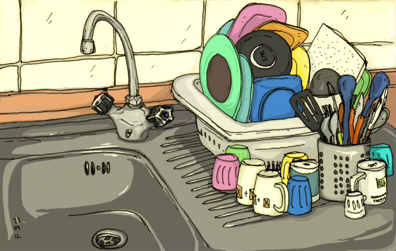 ana romao - kitchen counter