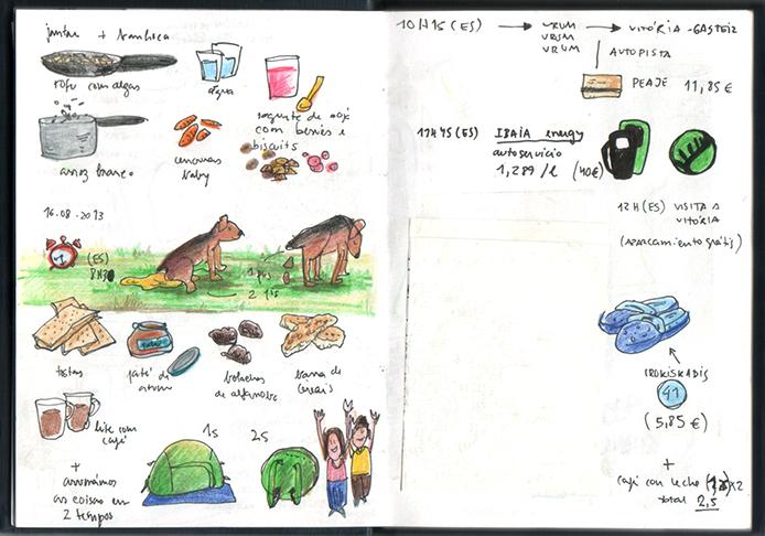 ana romao - summer 2013 road trip book - in transit
