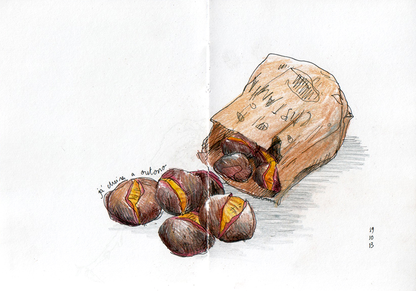 ana romao - roasted chestnuts sketch