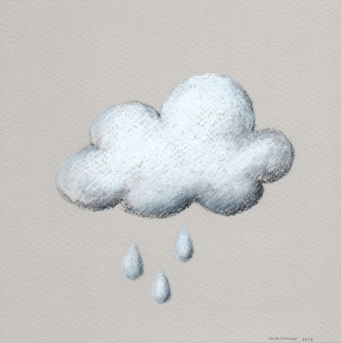 ana romao - clouds project - cloud with rain