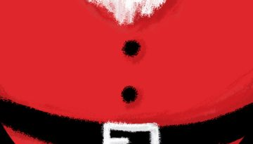ana romao santas belly animated gif feature image